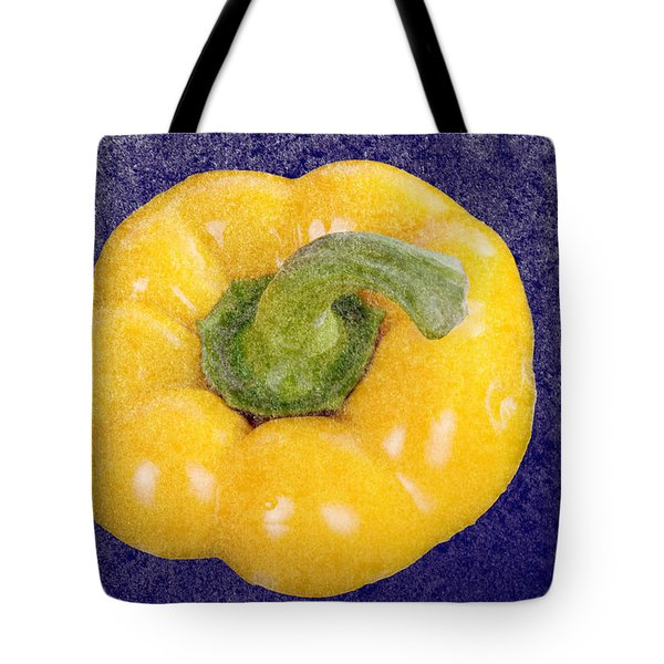 Tote Bag featuring the photograph Yellow Bell Pepper by Vizual Studio