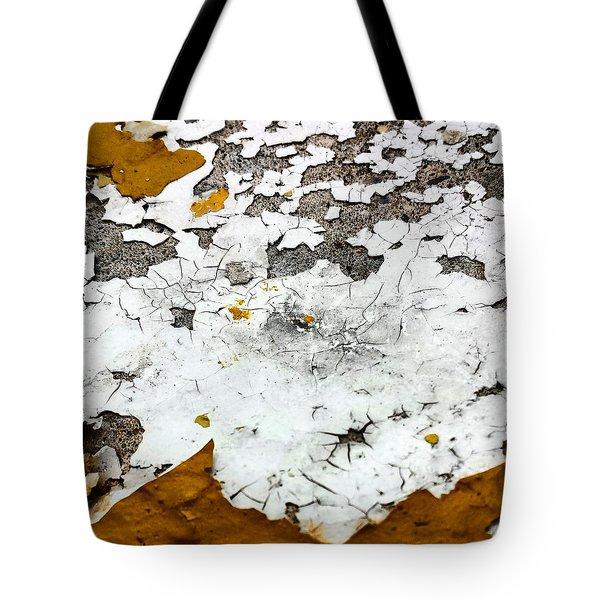 Yellow Post 4 Tote Bag