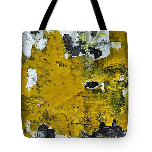 Yellow Post Tote Bag