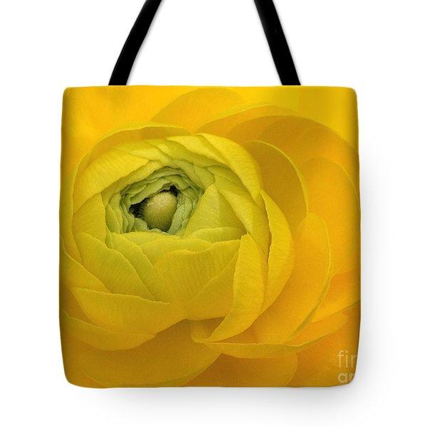 Yellow Ranunculus  Tote Bag