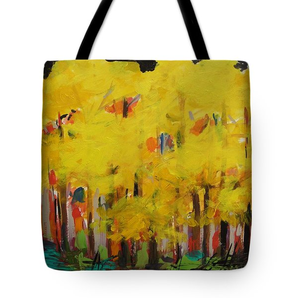 Yellow Refreshment Tote Bag
