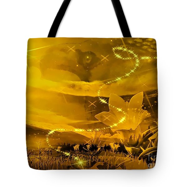 Yellow Revised Tote Bag