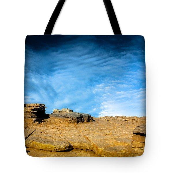 Yellow Rock Tote Bag