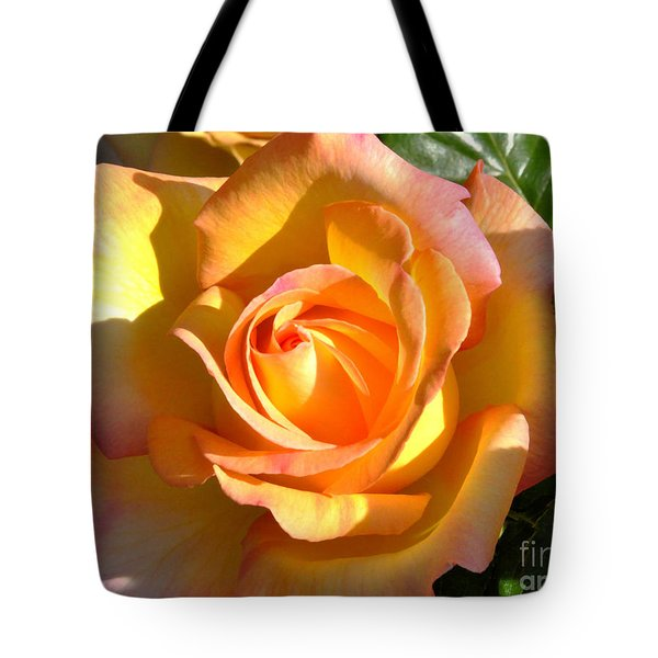 Tote Bag featuring the photograph Yellow Rose Bud by Debby Pueschel