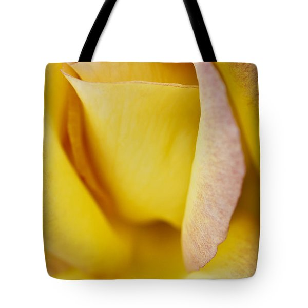 Yellow Rose Tote Bag by Lana Enderle