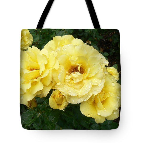 Yellow Rose Of Pa Tote Bag by Michael Porchik