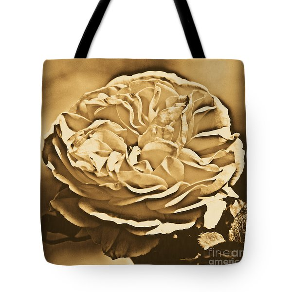Yellow Rose Of Texas Floral Decor Square Format Rustic Digital Art Tote Bag by Shawn O'Brien