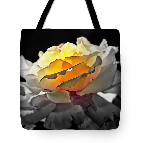 Yellow Rose Series - ...but Soul Is Alive Tote Bag