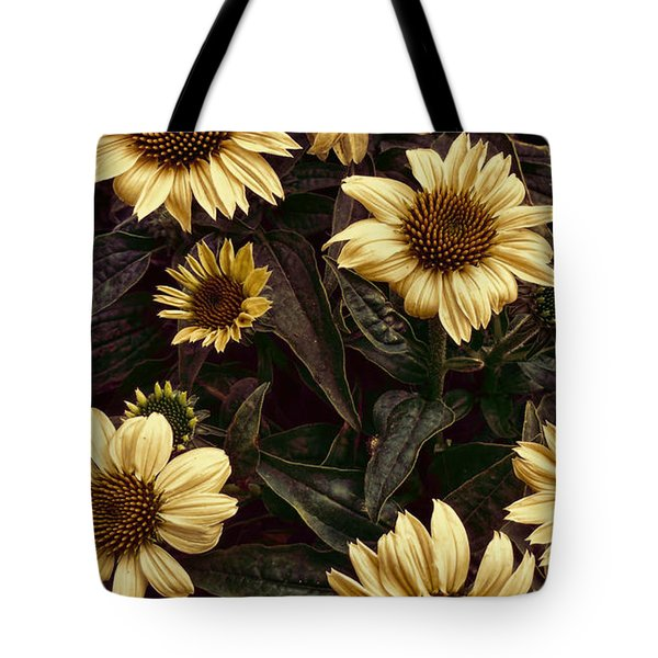 Yellow Sombrero Coneflower Tote Bag