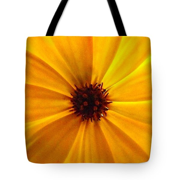 Yellow Splendour Tote Bag