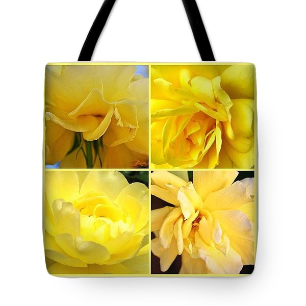Yellow Squares For The #gfd03_squares Tote Bag