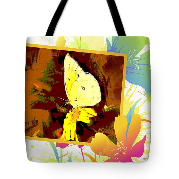 Yellow Sulphur Tote Bag