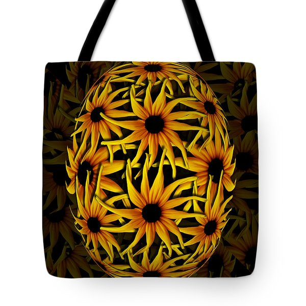 Yellow Sunflower Seed Tote Bag