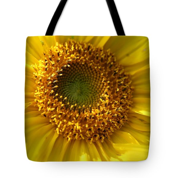 Yellow Sunshine Tote Bag by Neal Eslinger