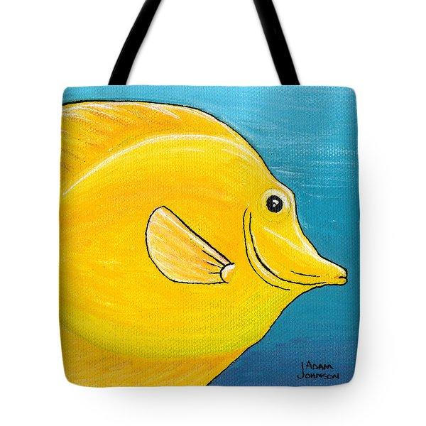 Yellow Tang Tote Bag
