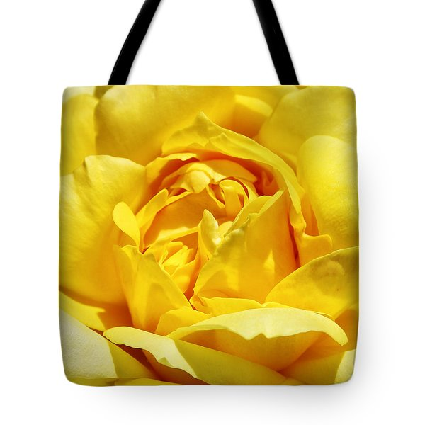 Yellow Tourmaline Rose Palm Springs Tote Bag by William Dey