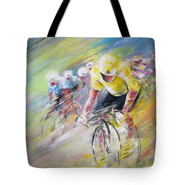 Yellow Triumph Tote Bag