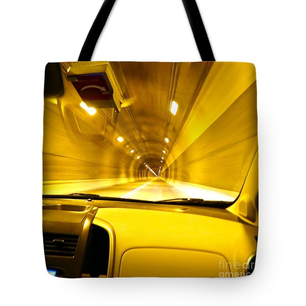 Yellow Tubes Tote Bag