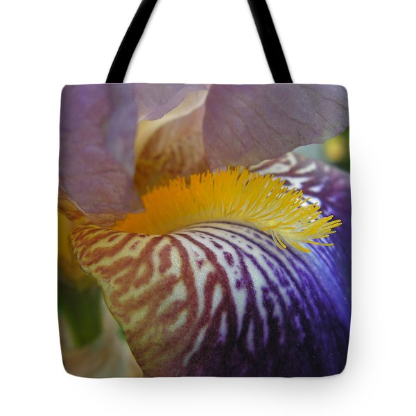 Tote Bag featuring the photograph Yellow Tuft by Cheryl Hoyle