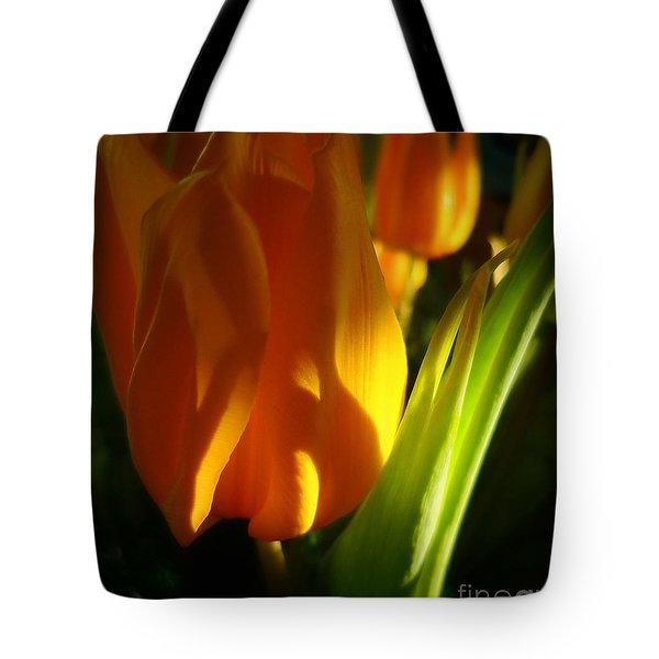 Yellow Tulips Tote Bag by Jeff Breiman