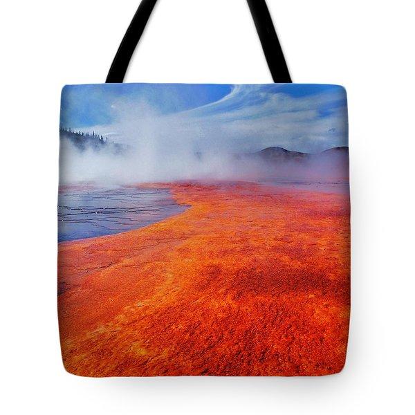Yellowstone Basin Tote Bag by Benjamin Yeager