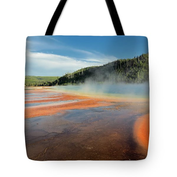 Yellowstone Geyser Tote Bag by Mountain Dreams