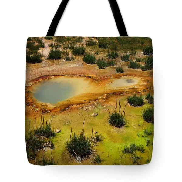 Yellowstone Hot Pool Tote Bag