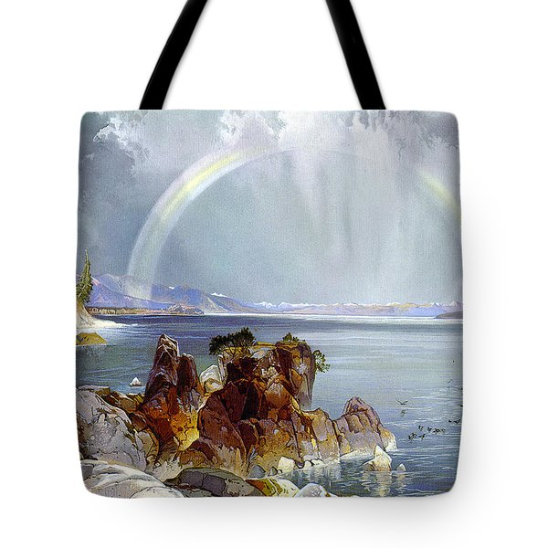 Yellowstone Lake 1875 Tote Bag by Unknown