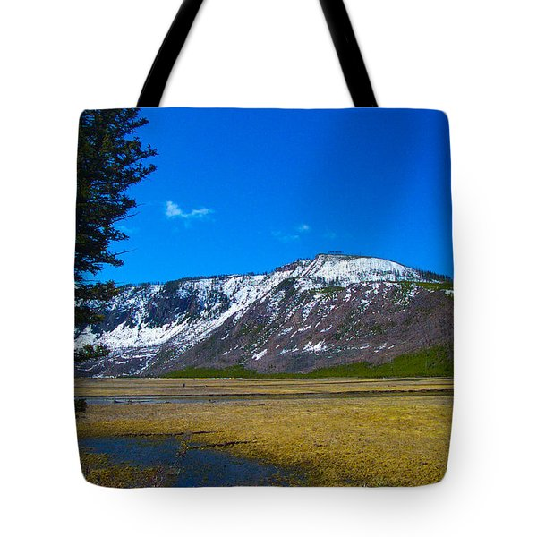 Yellowstone National Park Tote Bag by Kenneth Cole