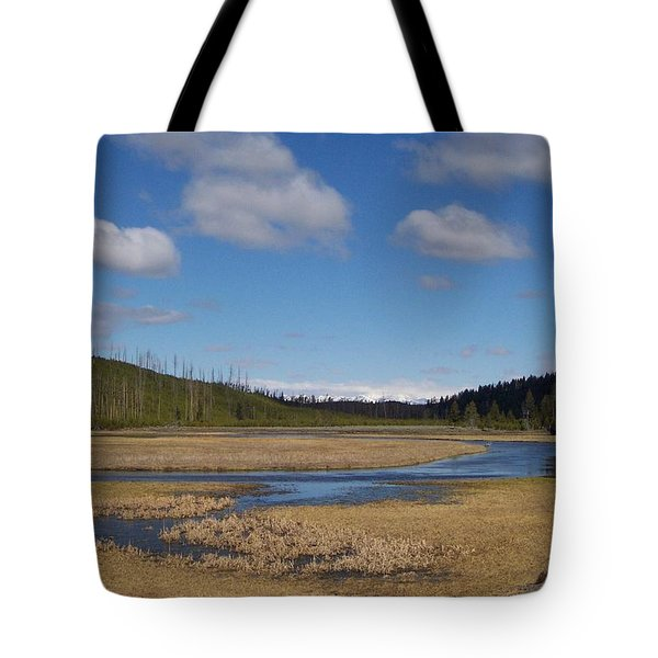 Yellowstone Park 2 Tote Bag