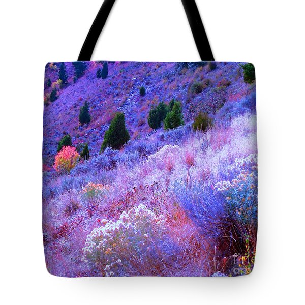 Yellowstone Summer Tote Bag