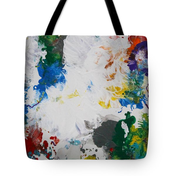 Yes Abstract Tote Bag