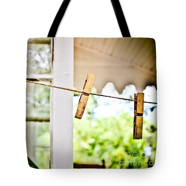 Yesterdays Chores Tote Bag