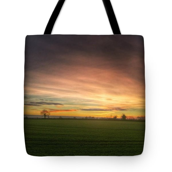 Yesterday's Sunset Tote Bag
