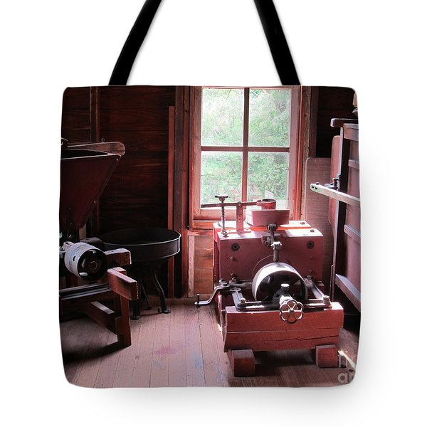 Yesteryears Tote Bag by Tina M Wenger