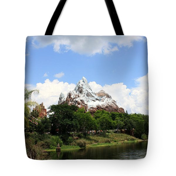 Tote Bag featuring the photograph Yeti Country by David Nicholls
