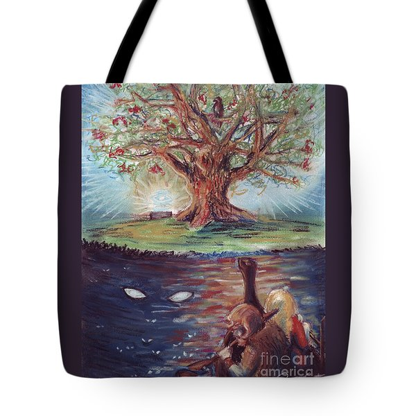 Yggdrasil - The Last Refuge Tote Bag