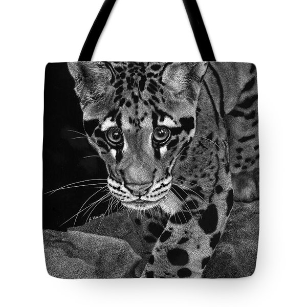 Yim - The Clouded Leopard Tote Bag