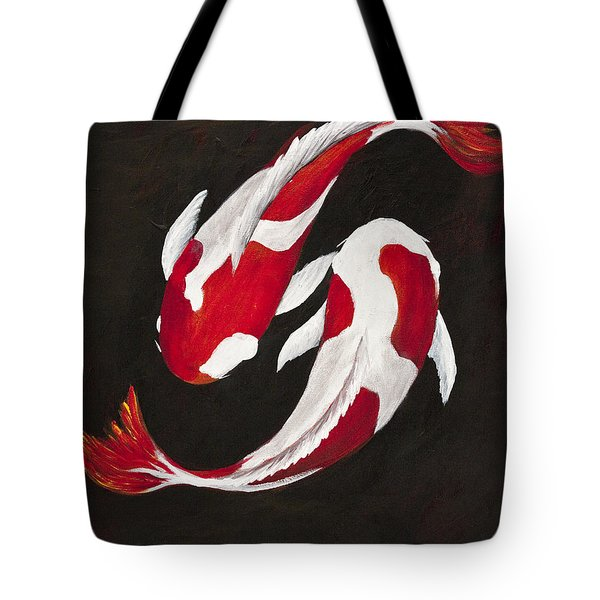 Yin And Yang Tote Bag by Darice Machel McGuire