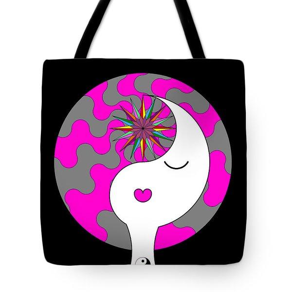 Yin Yang Crown 6 Tote Bag