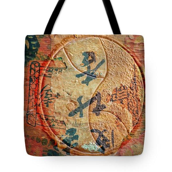 Yin-yang Expressions Tote Bag