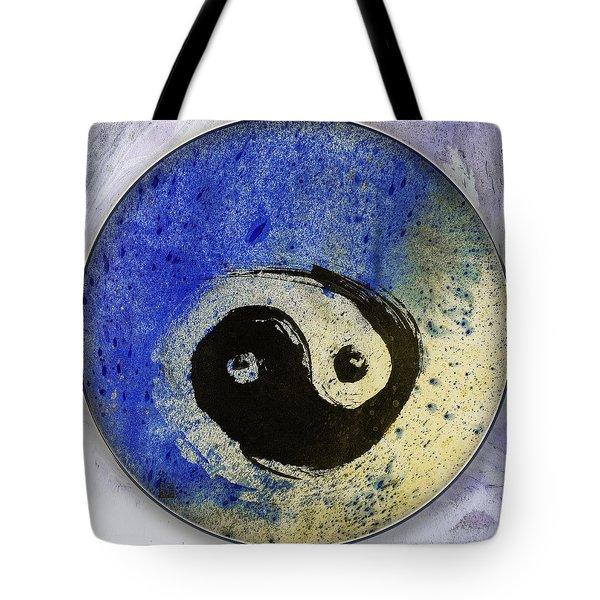 Yin Yang Painting Tote Bag