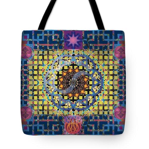 Yin Yang Star Tote Bag