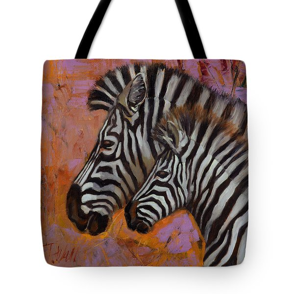 Yipes Stripes Tote Bag