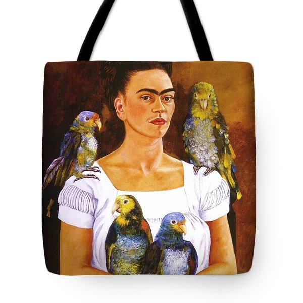 Yo Y Mis Pericos Tote Bag