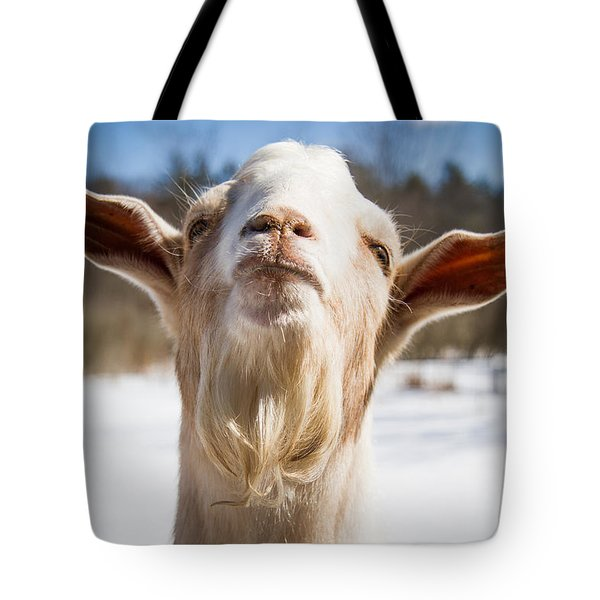 'yoda' Goat Tote Bag