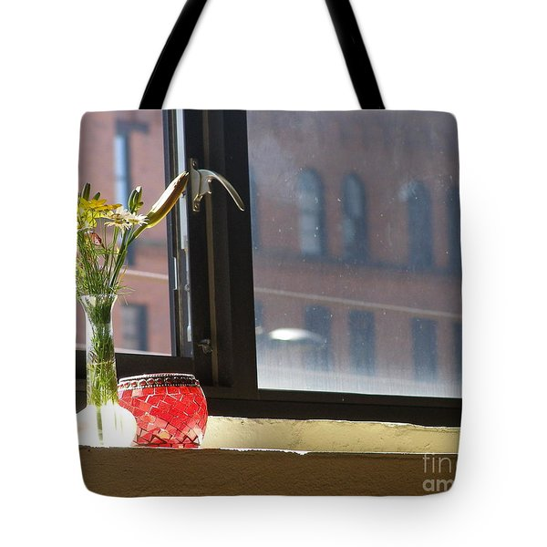 Yoga In The Sun Tote Bag