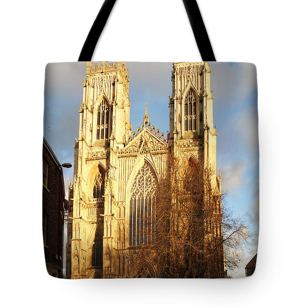 York Minster Tote Bag by Neil Finnemore