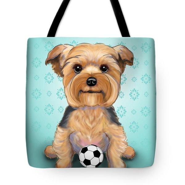 Yorkie  Baxter Hemenway Tote Bag