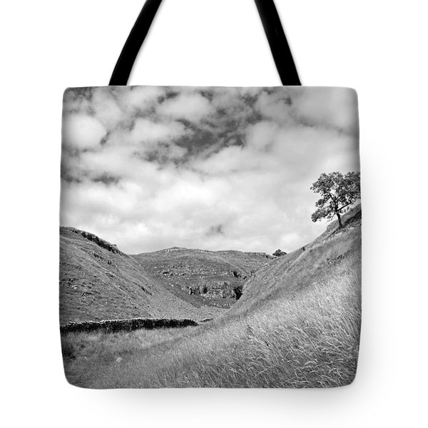 Lone Tree In The Yorkshire Dales Tote Bag